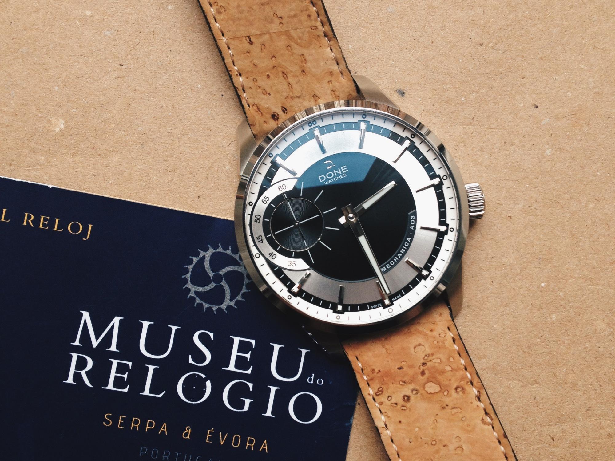 9172fbd96ca Museu do Relógio Cork watch strap (Review) + brief history ...